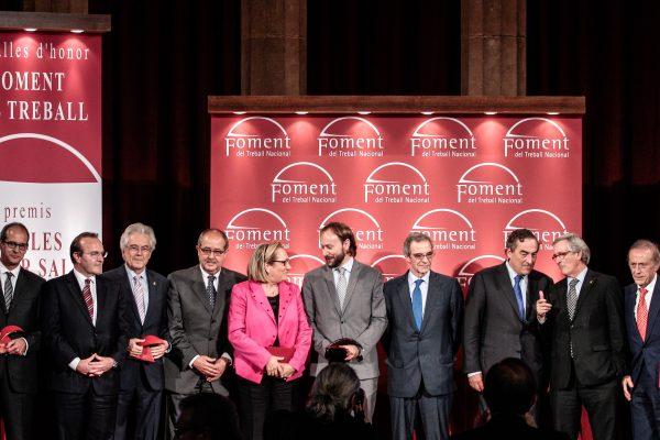 Foment distingeix César Alierta i Miguel A. Torres amb les Medalles d'Honor de la institució