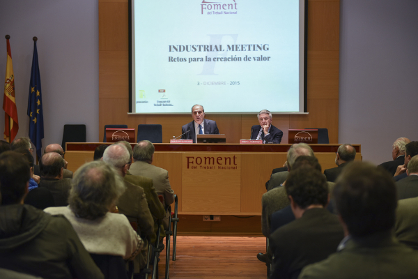 Industrial Meeting de Foment: Las exportaciones salvan la industria en España durante la crisis