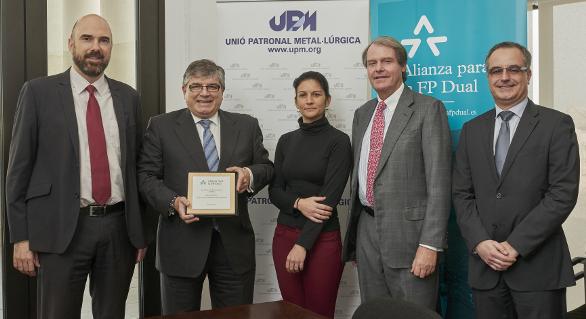La Unió Patronal Metal·lúrgica se adhiere a la Alianza para la Formación Profesional Dual