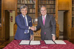 Joaquim Gay de Montellà es reuneix amb Luca de Meo, president de SEAT