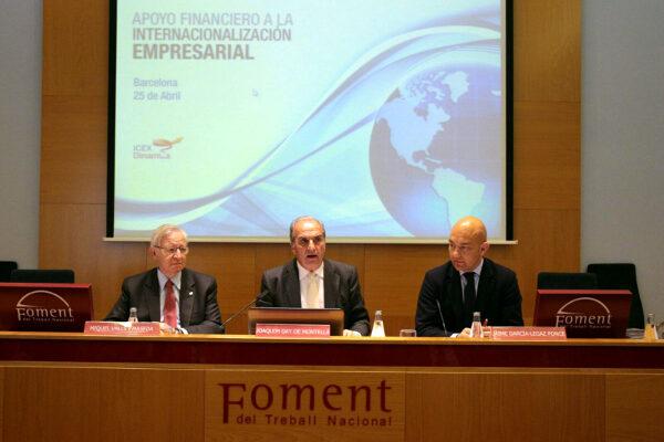 Assolir l'objectiu 40/40: que les exportacions suposin el 40% del PIB d'Espanya l'any 2040