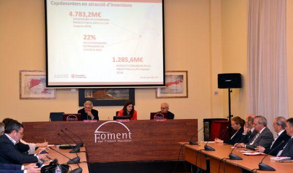 Apuesta por el liderazgo privado y la renovación tecnológica para impulsar la industria en Cataluña