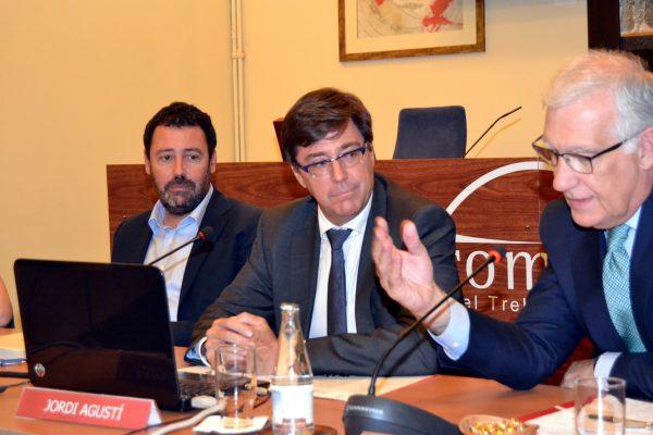 L'ACA presenta a Foment la seva proposta de Pla Especial d'Actuació en situació de Sequera