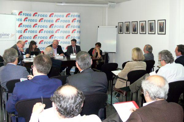 Les pimes de Girona analitzen la situació empresarial del territori en un debat marcat per les infraestructures clau