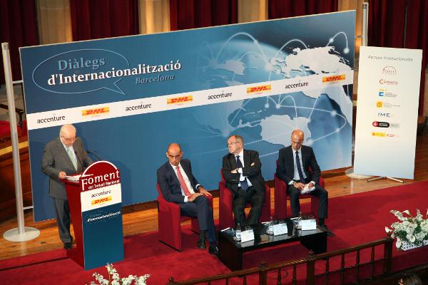 Foment destaca la vocació internacional i la capacitat exportadora de Catalunya durant la segona jornada de Diàlegs d'Internacionalització Barcelona