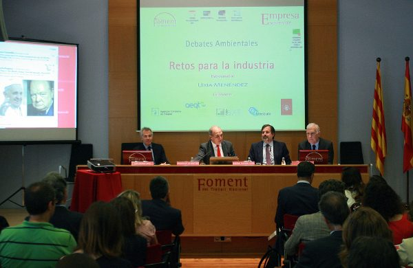 """Gay de Montellà: """"necesitamos políticas ambientales basadas en la cooperación y la innovación que respeten la competitividad de nuestras empresas"""""""