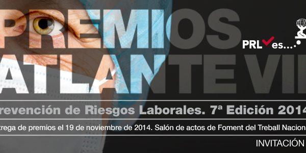 Dieciséis candidaturas, finalistas de los VII Premios Atlante de Prevención de Riesgos Laborales
