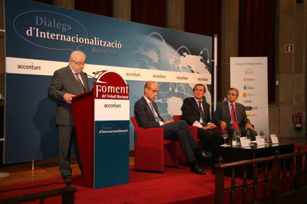 """Sixte Cambra reclama """"mejorar la competitividad del Corredor Ferroviario del Mediterráneo"""""""