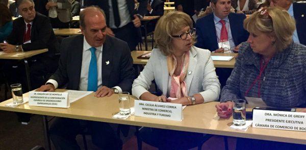 Joaquim Gay de Montellà destaca l'Aliança del Pacífic i l'Acord multipartit de la UE amb el Perú i Colòmbia