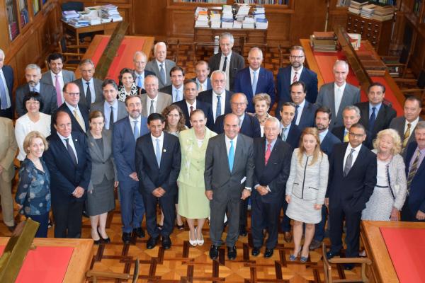 Foment reúne el cuerpo consular acreditado en Barcelona