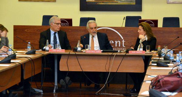 Reunió amb el secretari de Medi Ambient i Sostenibilitat del Govern per conèixer les principals línies polítiques ambientals de la Generalitat