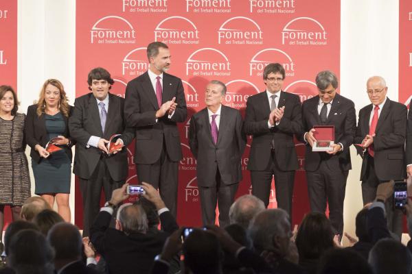 Foment reconeix l'esforç inversor de SEAT i la trajectòria empresarial de Javier Godó