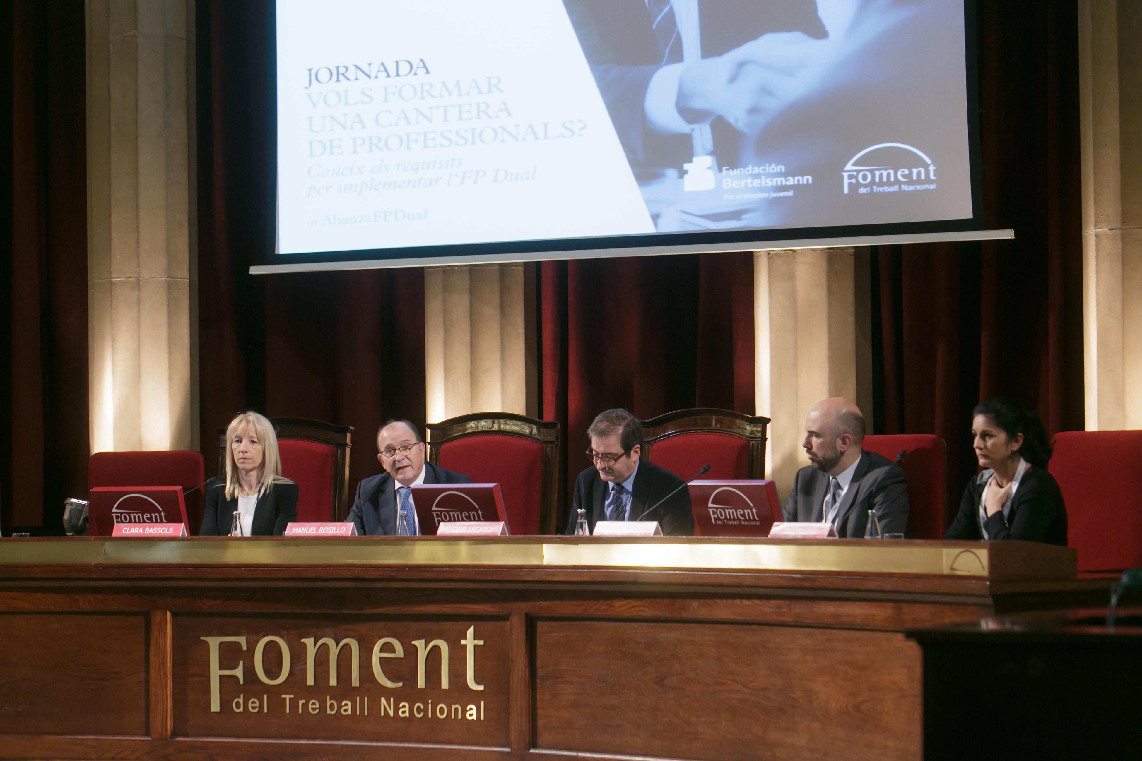 Una Jornada sobre FP Dual de la Fundació Bertelsmann i Foment del Treball descriu set casos d'èxit a Catalunya