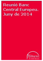 Reunió Banc Central Europeu. Juny de 2014