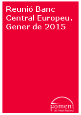 Reunió Banc Central Europeu. Gener de 2015