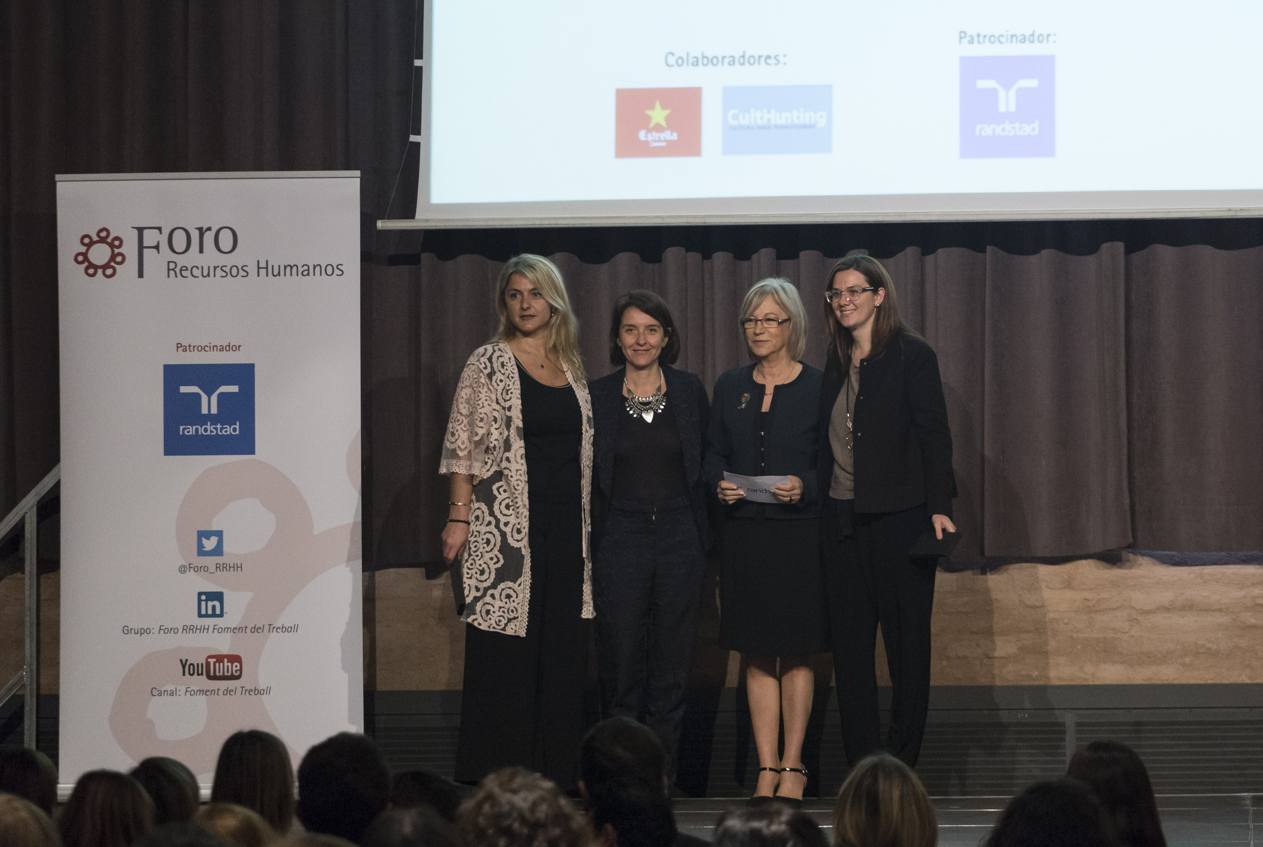 Premio a mejor ponencia del Foro RRHH