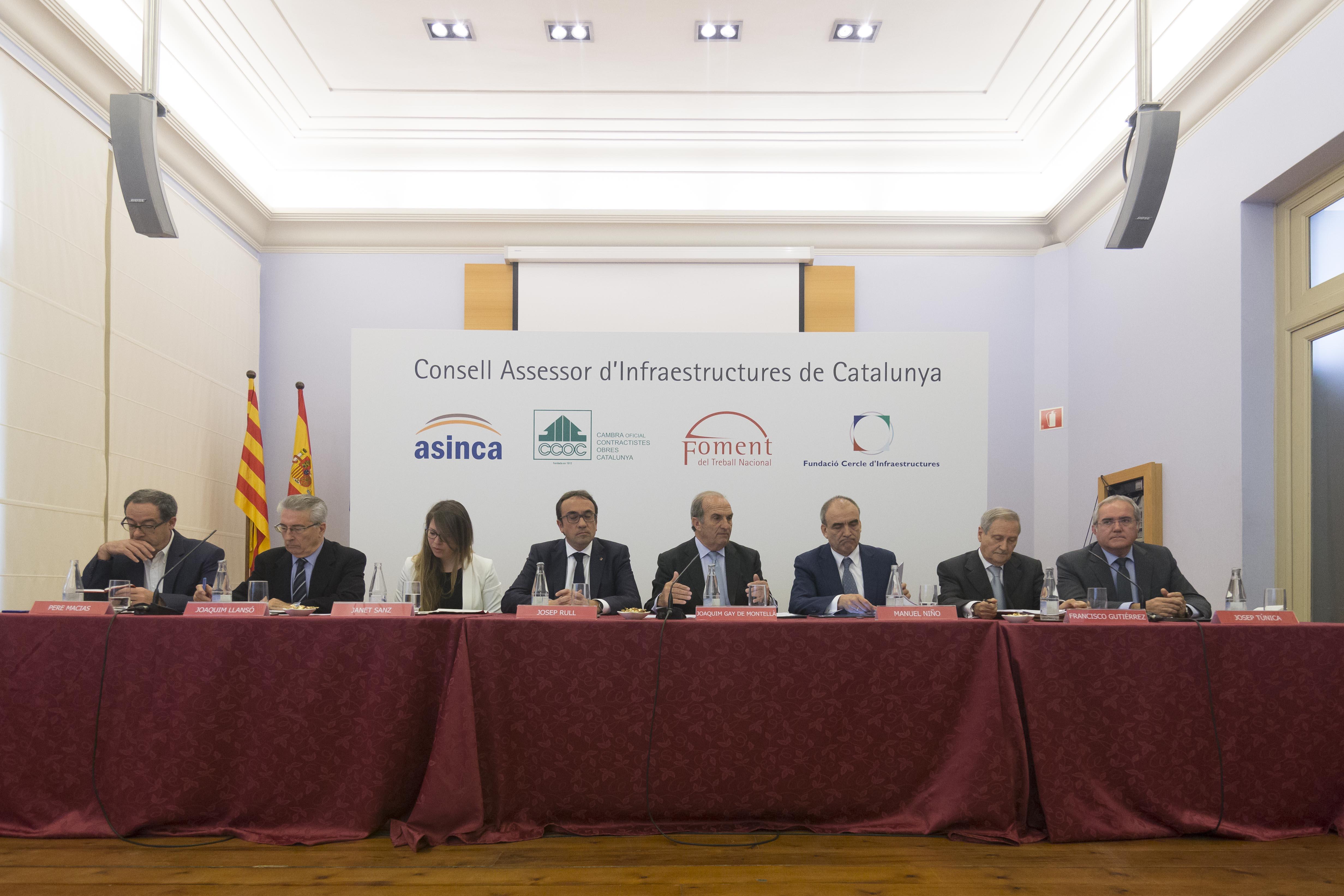 El Consell Assessor d'Infraestructures de Catalunya quiere profundizar en un nuevo modelo de gestión basado en la demanda