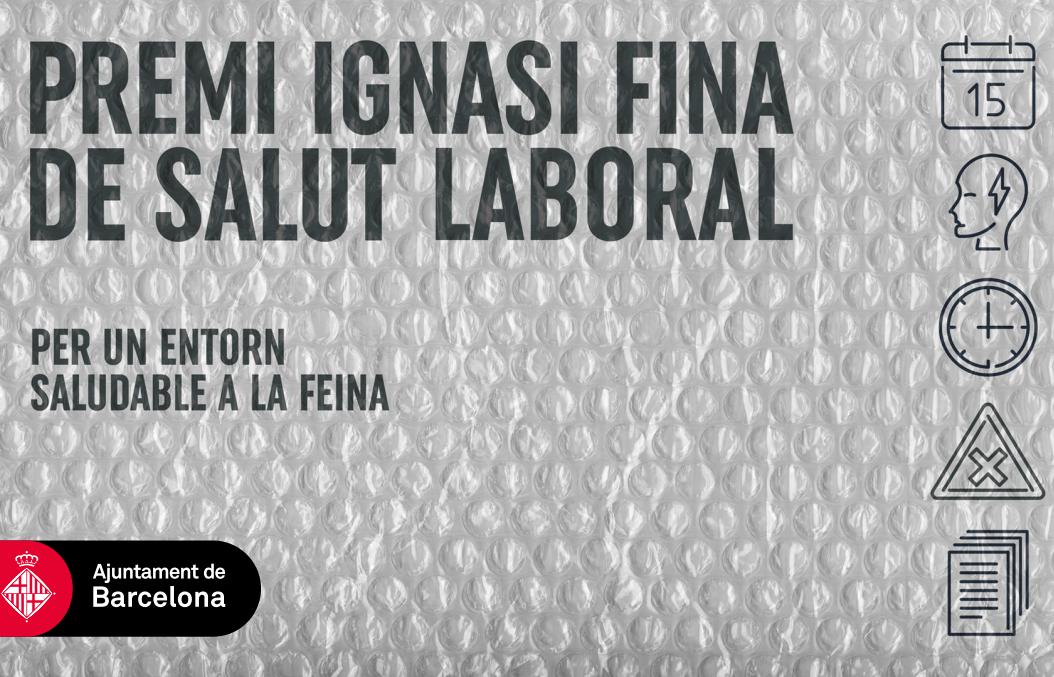 Barcelona reconoce el programa de salud psicológica de la empresa HP con el Premio Ignasi Fina.
