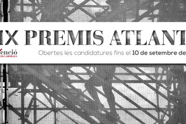 Convocatòria. IX Edició dels Premis Atlante a la prevenció de riscos laborals