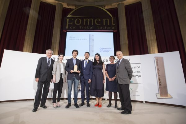 El centre logístic d'Amazon al polígon Mas Blau del Prat de Llobregat guanya el Premi a la Millor Infraestructura de 2017