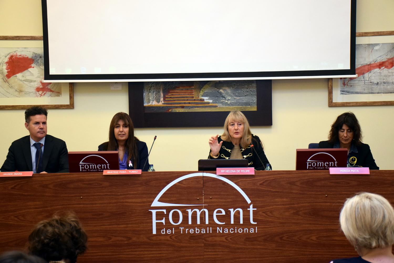 """María Helena de Felipe: """"Per posicionar les dones en llocs de decisió econòmica a les empreses és fonamental treballar les aptituds com a base de les habilitats d'apoderament"""""""