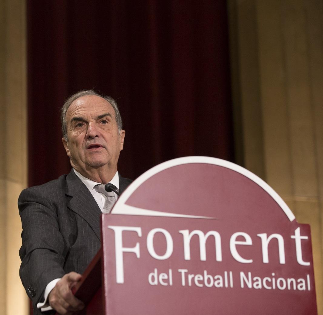 President de Foment del Treball, Joaquim Gay de Montellà