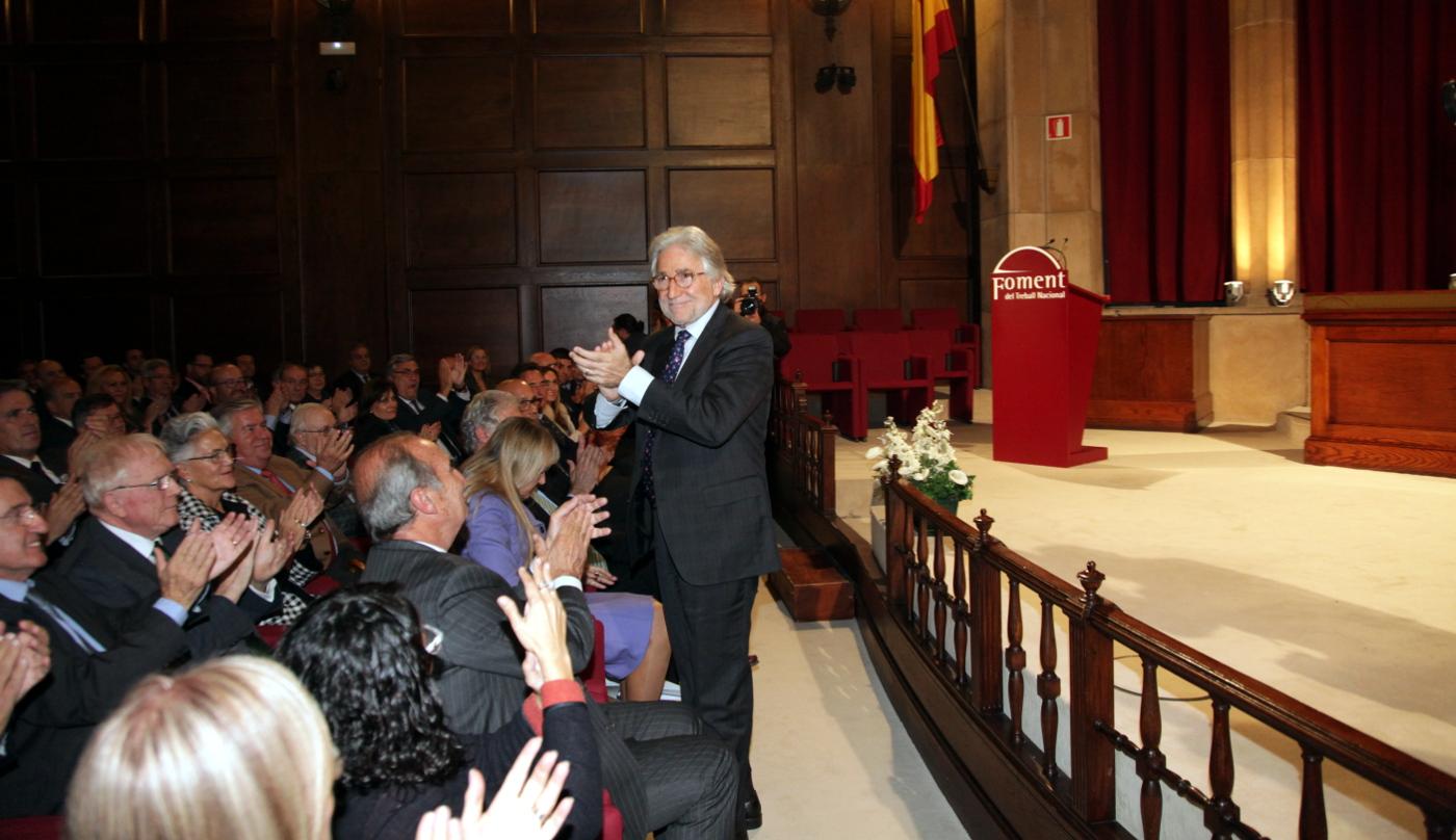 Sánchez Llibre demana unitat i gosadia per fer un Foment més rejovenit, modern, feminitzat i il·lusionat