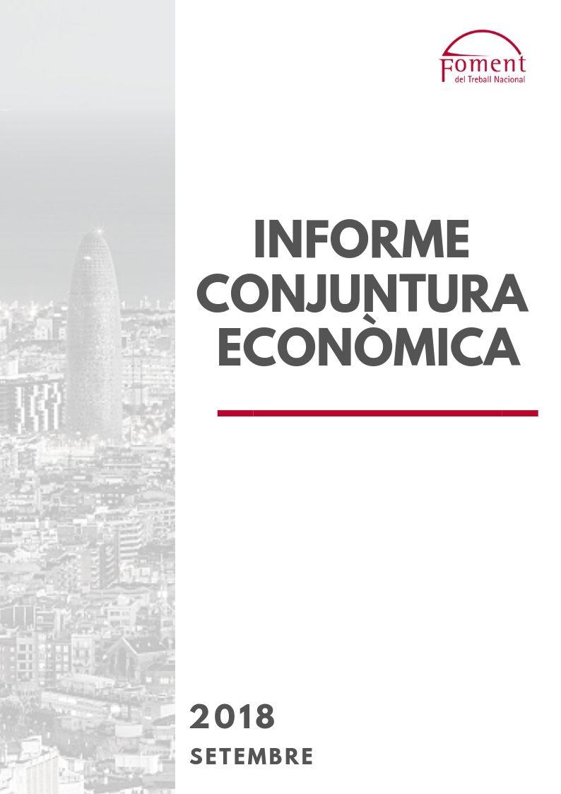 Informe de Conjuntura Econòmica a Catalunya. Setembre de 2018