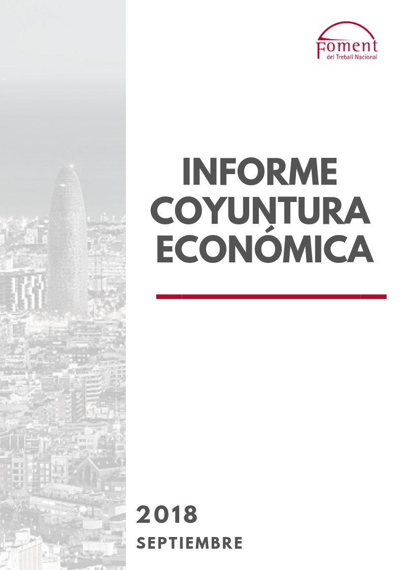 Informe de Coyuntura Económica en Cataluña. Septiembre de 2018