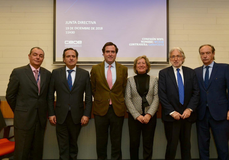 Josep Sánchez Llibre vicepresidente CEOE