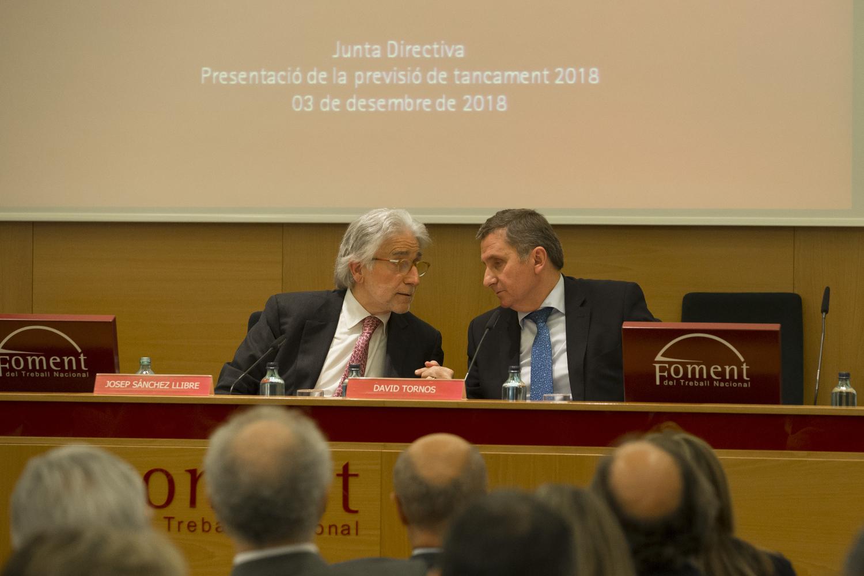 La Junta Directiva nomena David Tornos com a nou Secretari General en substitució de Joan Pujol