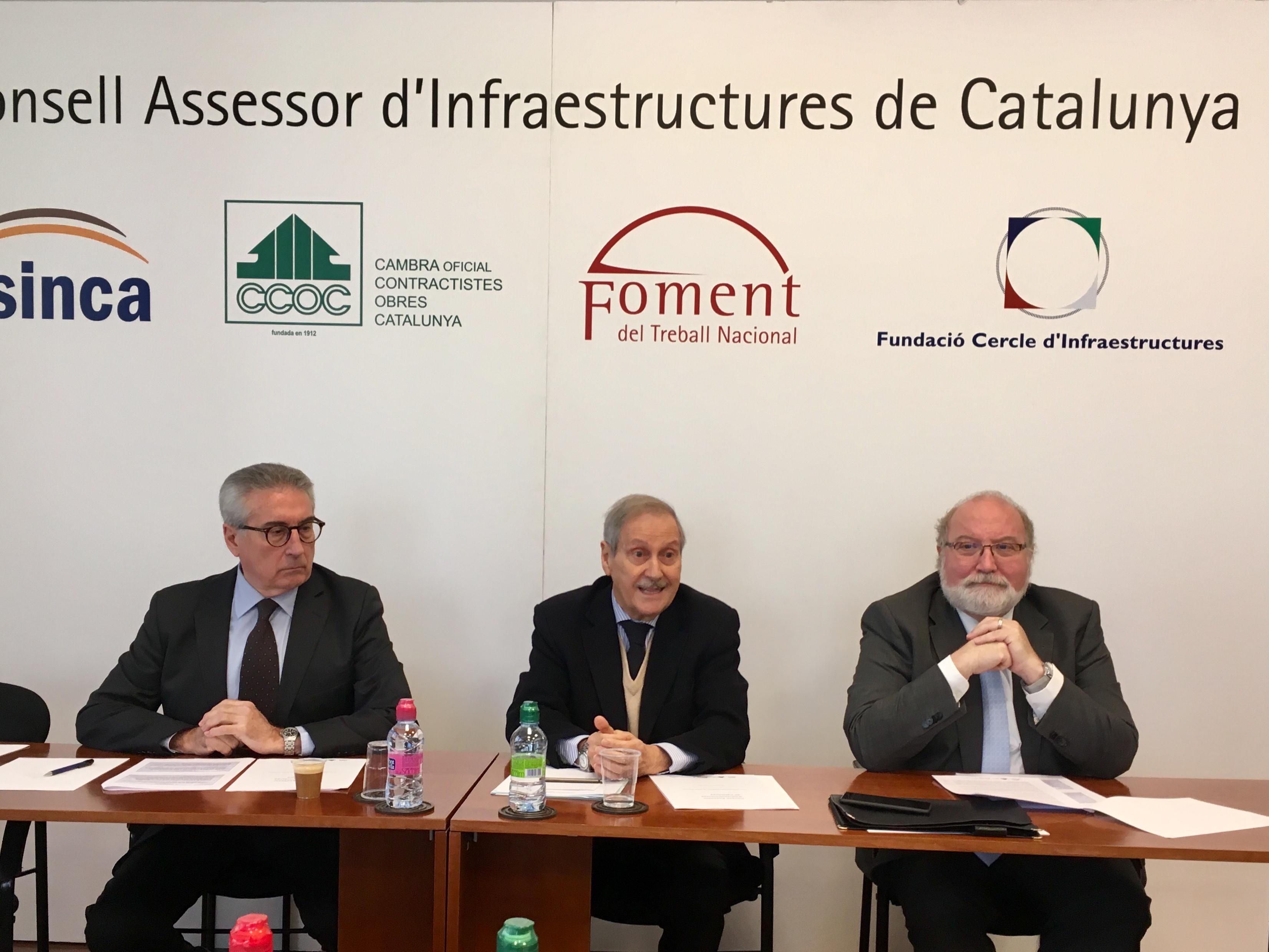 El Consell Assessor d'Infraestructures de Catalunya vindica la col·laboració Públicoprivada com el model necessari per recuperar la inversió