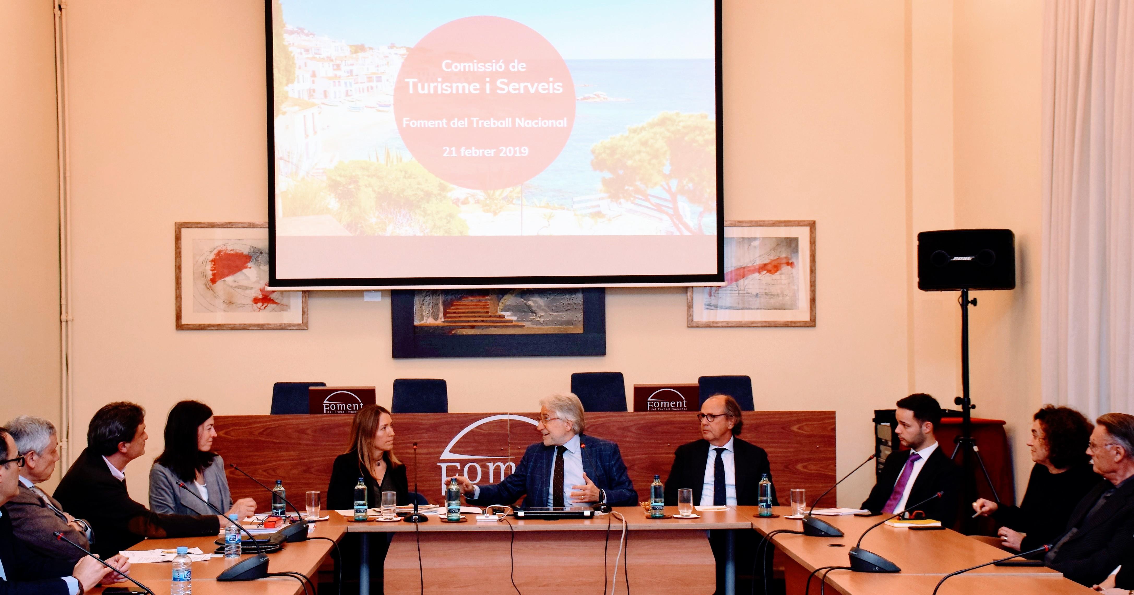 Foment trabaja, a través de su Comisión de Turismo y Servicios, en un documento de posicionamiento empresarial del sector turístico para las Elecciones Generales del 28 de abril