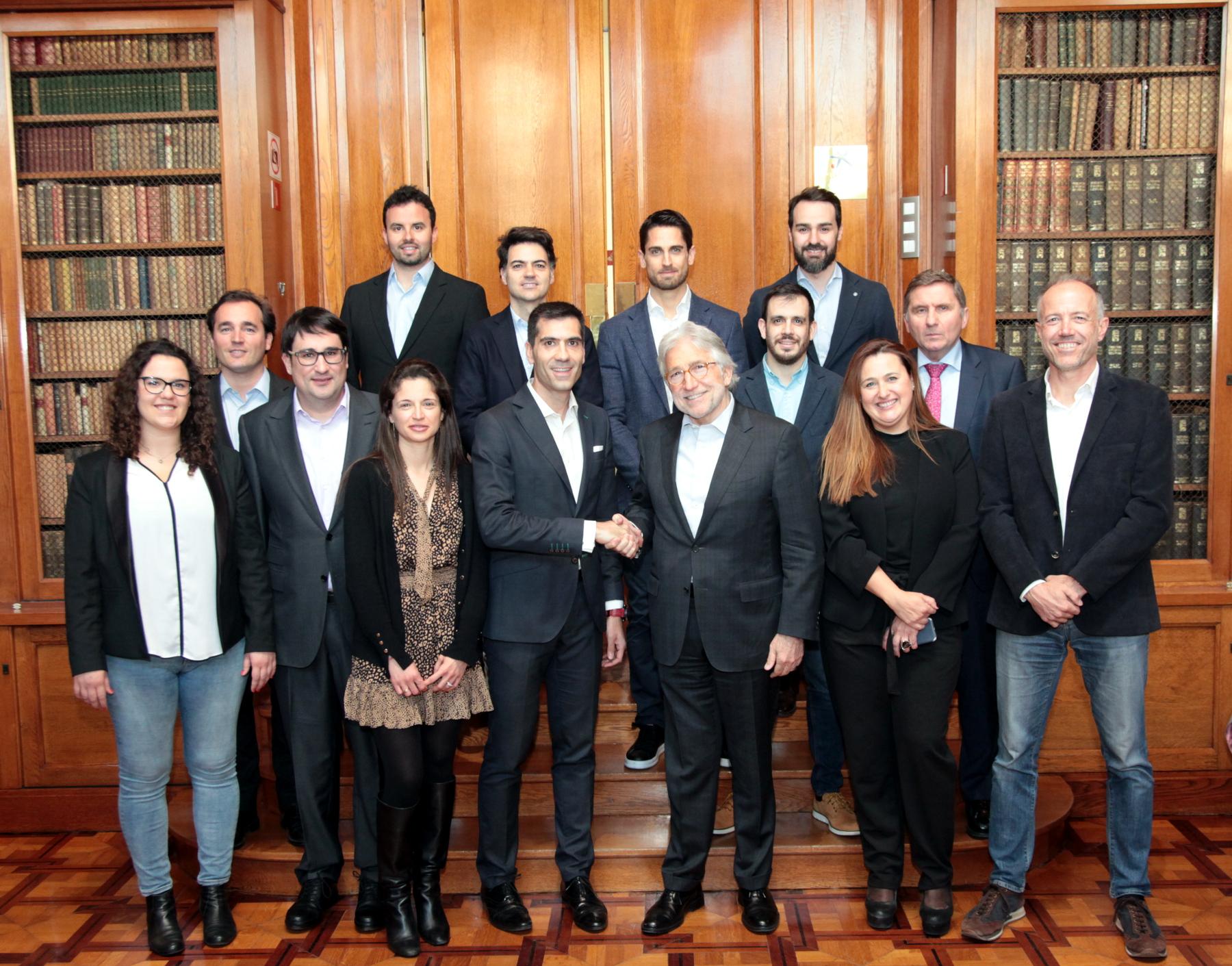 La AIJEC y el Foment del Treball renuevan y refuerzan sus vínculos de colaboración