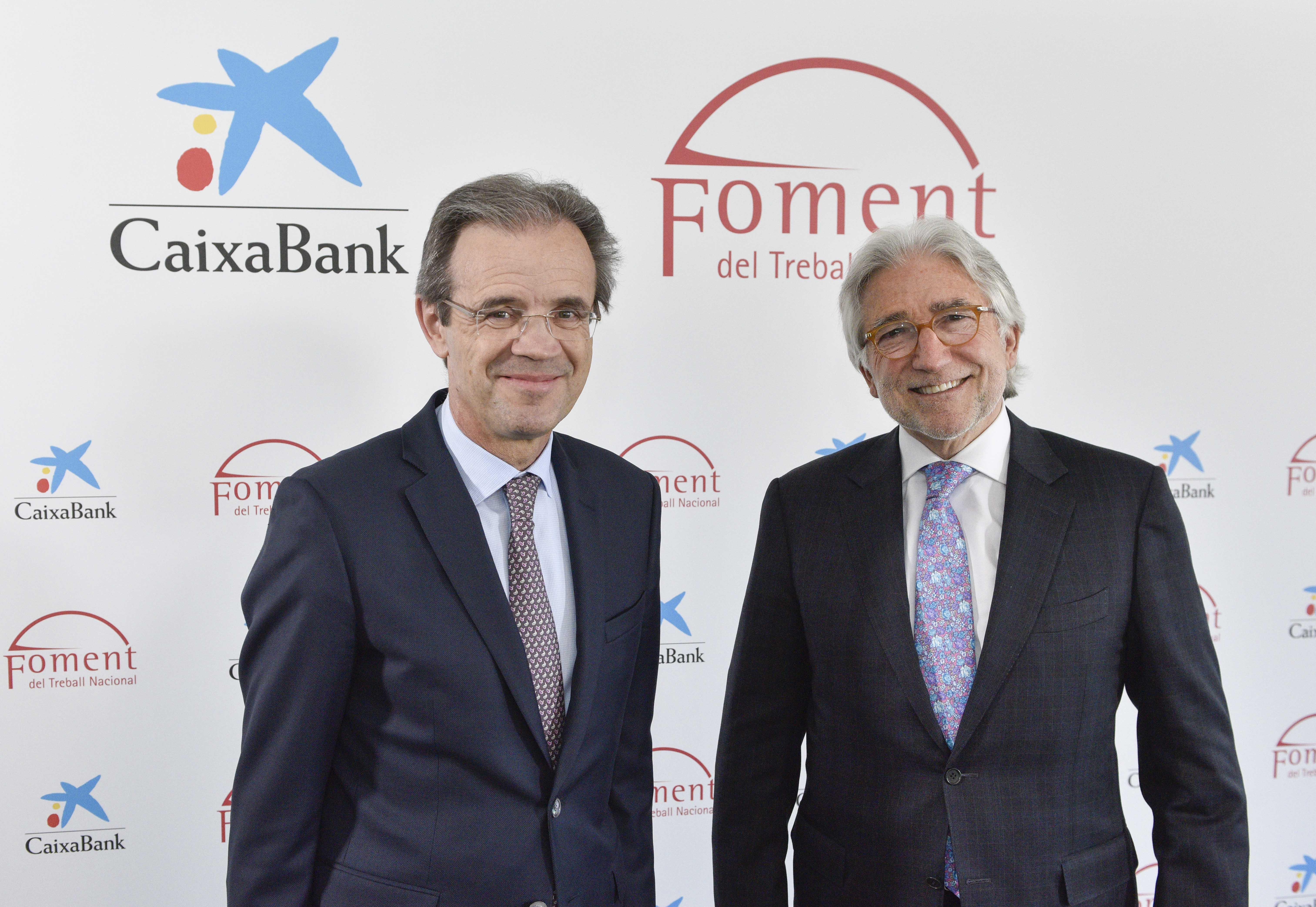 CaixaBank y Foment firman una nueva línea de financiación de 2.000 millones de euros