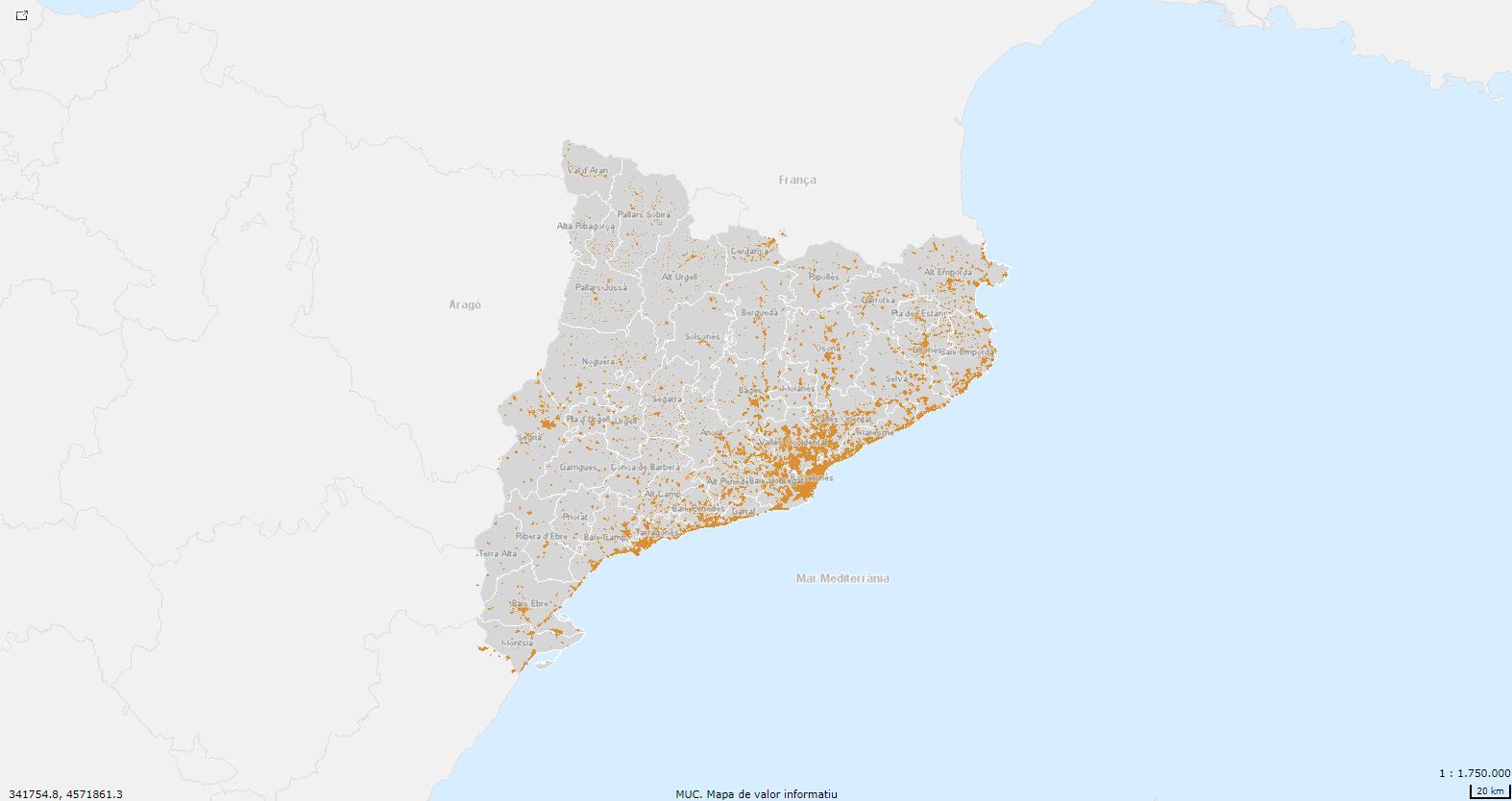 Mapa Urbanístic De Catalunya.Mapa Urbanistic De Catalunya Foment Del Treball