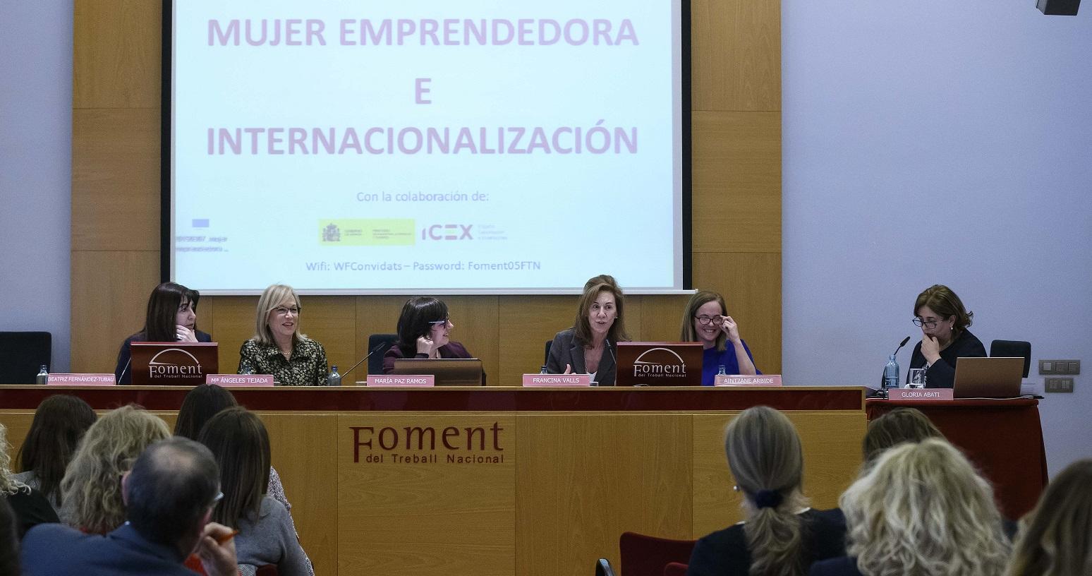 Persisteixen desequilibris de gènere a l'hora d'emprendre o internacionalitzar projectes empresarials