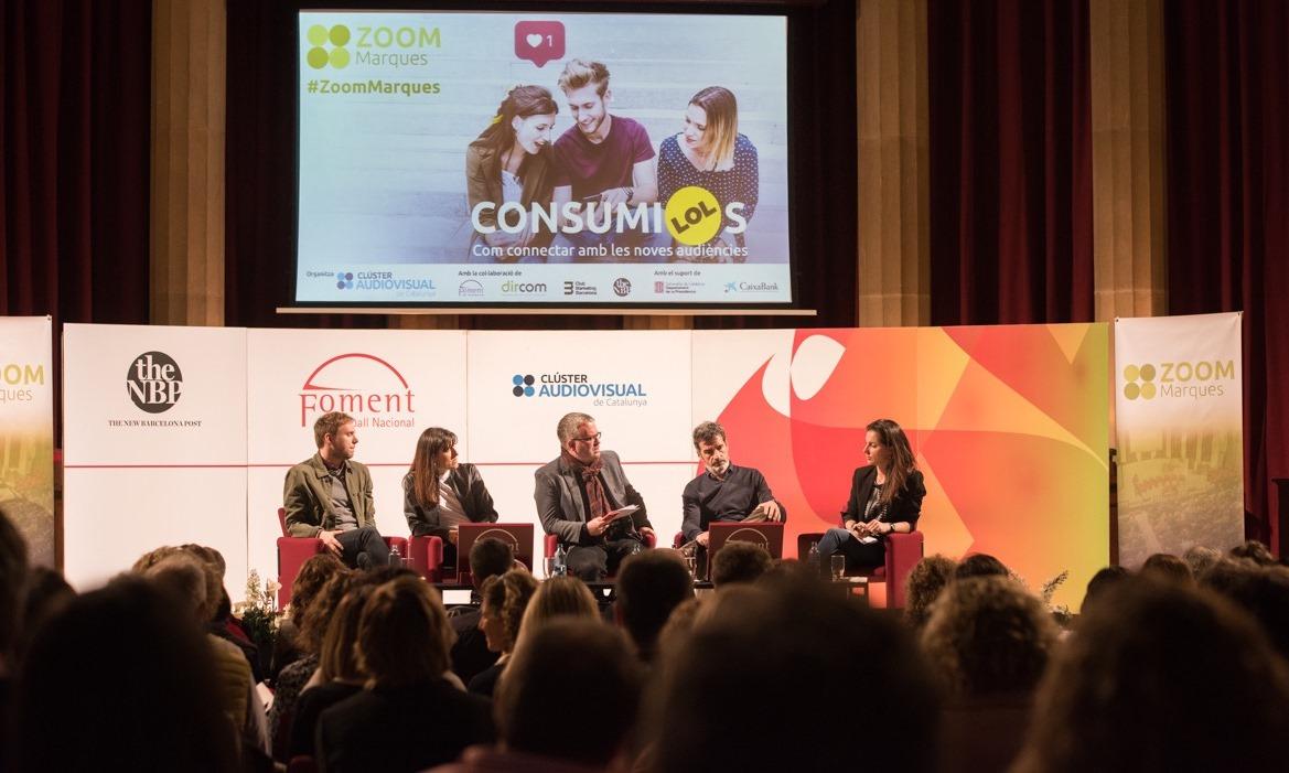 Zoom Marques debat a Foment sobre com connectar amb les noves audiències