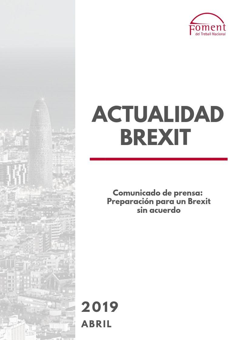 Preparació per a un Brexit sense acord: la Comissió Europea fa inventari dels preparatius i ofereix orientacions pràctiques per garantir un enfocament coordinat a la UE