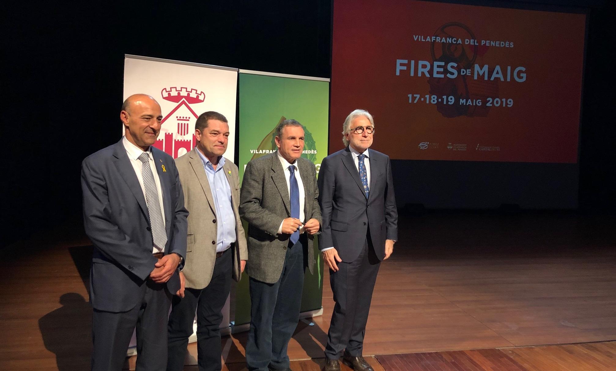 Sánchez Llibre defiende la Cohesión Social y Territorial en las Fires de Vilafranca