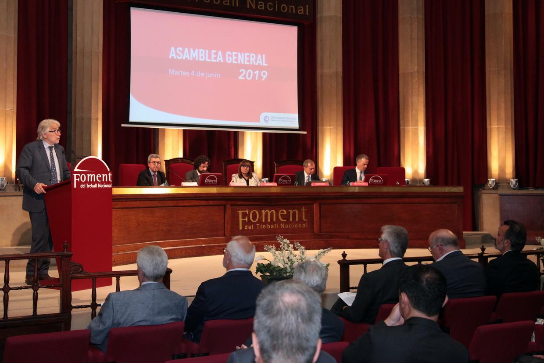 Josep Sánchez Llibre inaugura l'Assemblea General de la Cambra de Comerç Francesa remarcant els vincles entre França i Catalunya
