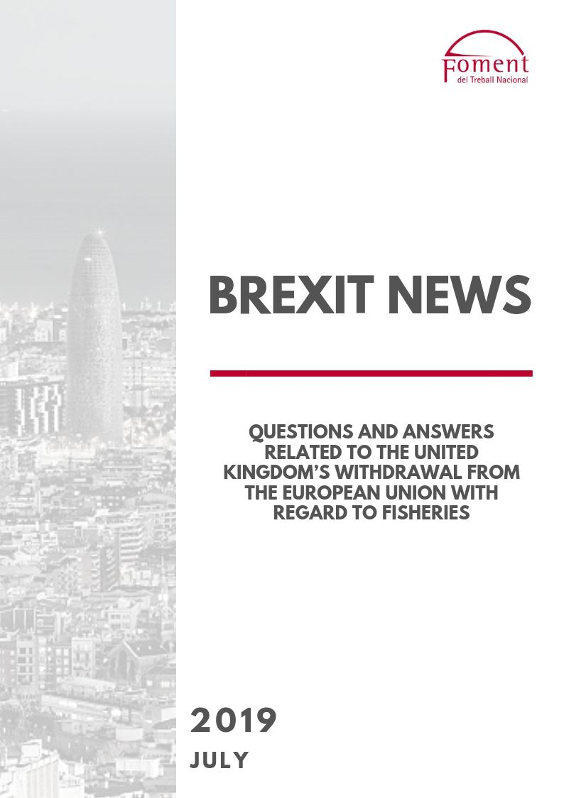 QUESTIONS AND ANSWERS RELATED TO THE UNITED KINGDOM'S WITHDRAWAL FROM THE EUROPEAN UNION WITH REGARD TO FISHERIES