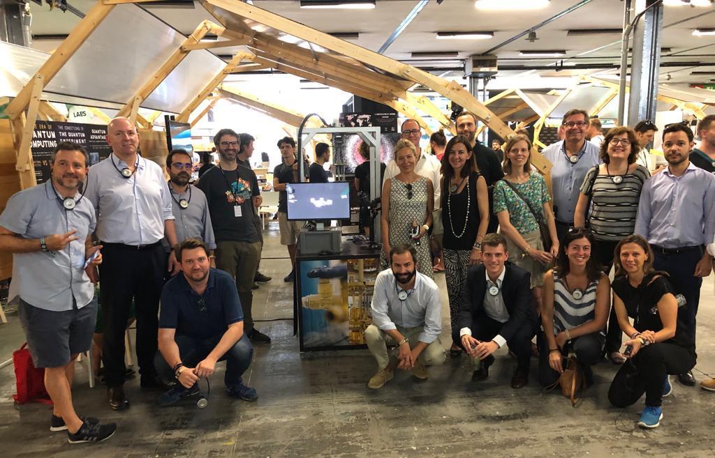 Foment organitza un tour privat pel Sónar+D per inspirar-se en nous models creatius i innovadors