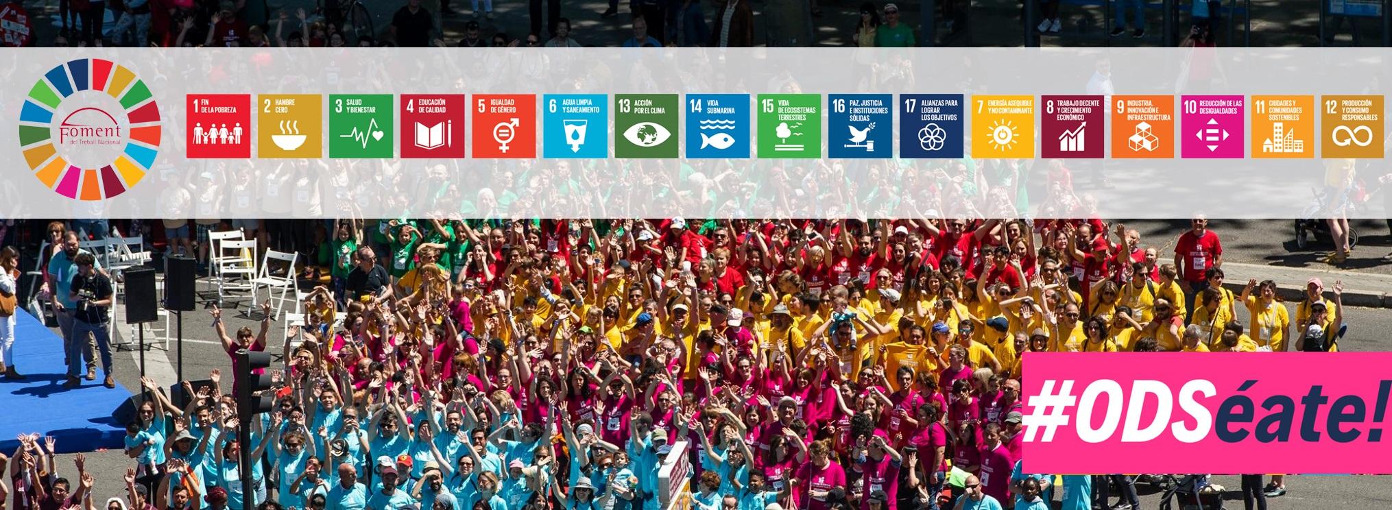ODSéate! Quart aniversari de l'adhesió d'Espanya a l'Agenda 2030 de Desenvolupament Sostenible de les Nacions Unides