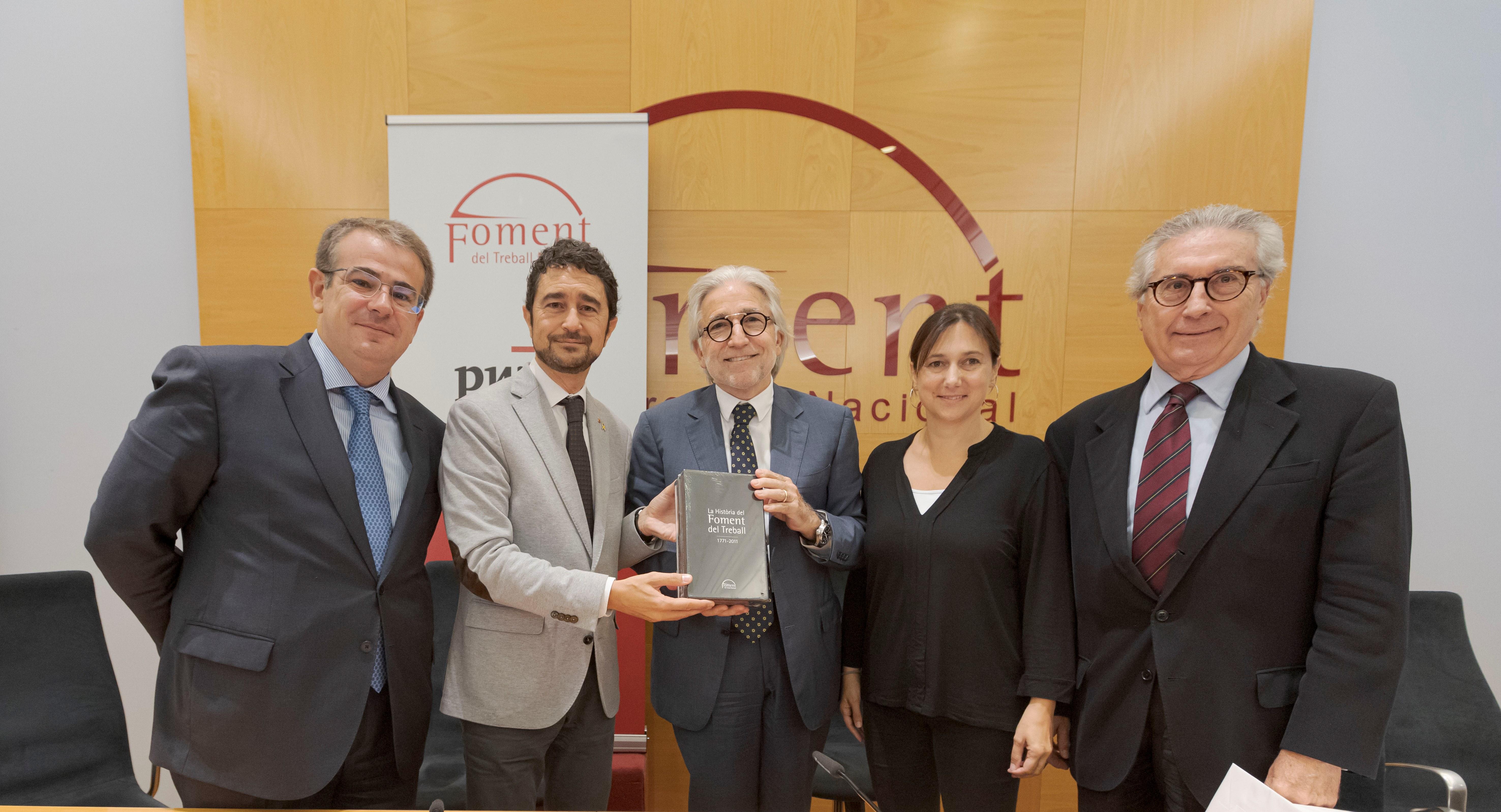 Sanchez Llibre llama al diálogo y a la complicidad institucional para compensar el déficit de infraestructuras en Cataluña