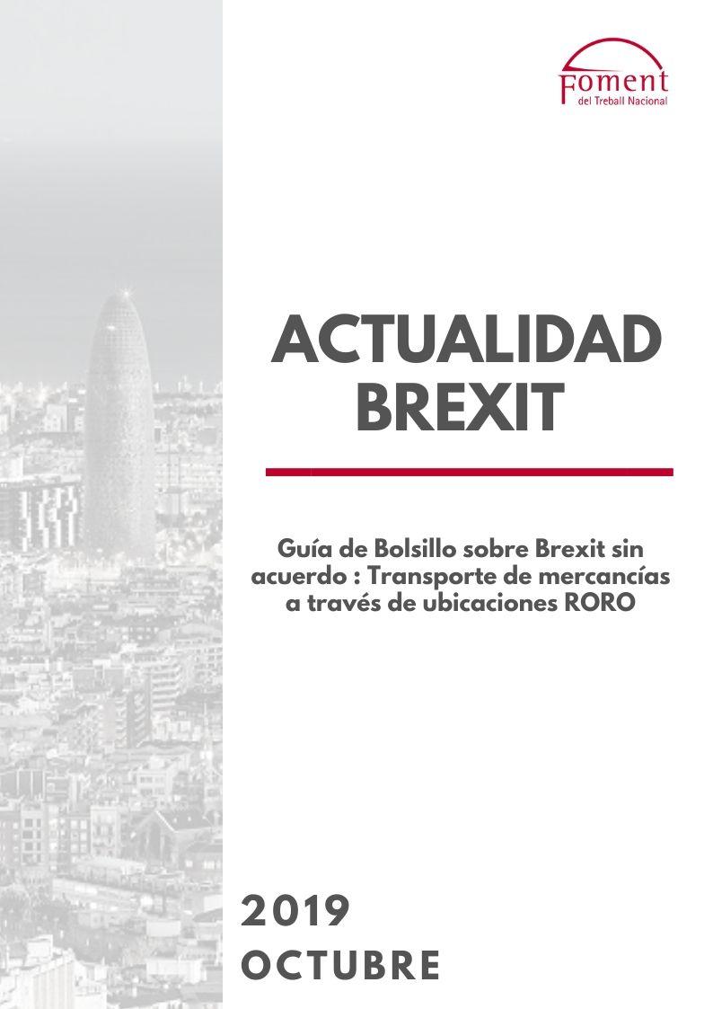 Guía de bolsillo sobre Brexit sin acuerdo- Transporte de mercancías a través de ubicaciones RORO