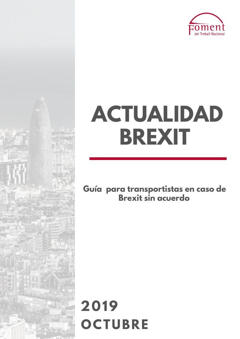 Transporte de mercancías entre el Reino Unido y la UE en caso de Brexit sin acuerdo: guía para transportistas