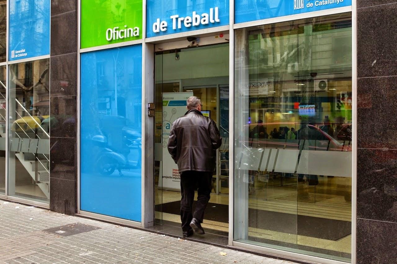 L'atur creix a Catalunya i constata la tendència de desacceleració econòmica i d'ocupació