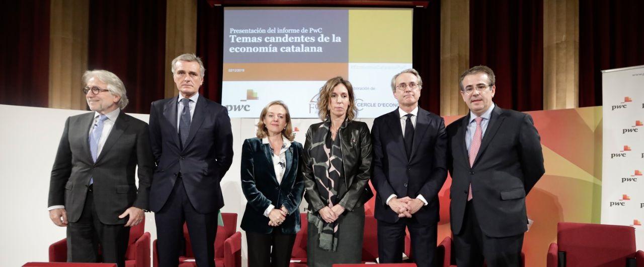 La estabilidad política, infraestructuras estratégicas y digitalización, claves para la competitividad de Catalunya