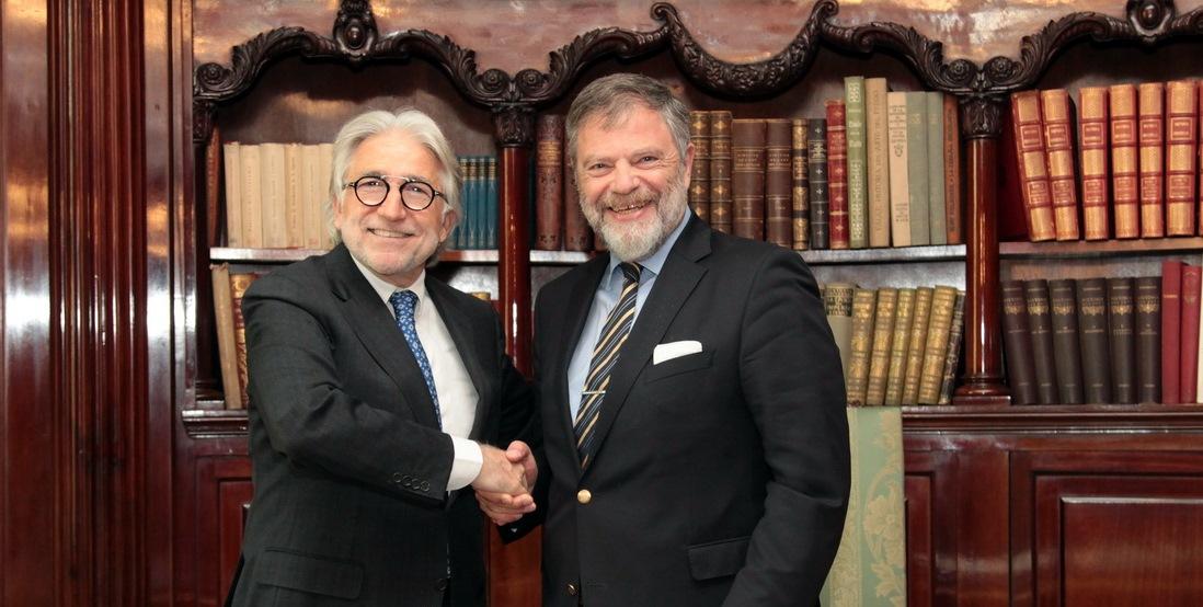 El president de Foment es reuneix amb l'ambaixador de la República Federal d'Alemanya a Espanya